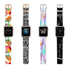 Customize your Apple Watch with a colorful band.