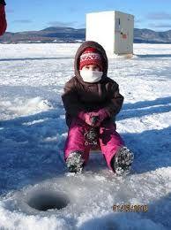 ice fishing Dalhousie NB