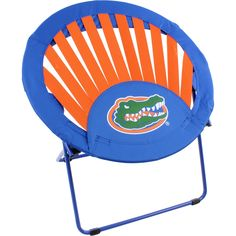 College Covers, Florida Gators Rising Sun Chair. Rising Sun Chair is the latest trend in portable seating.Its flexible bungee web support provides comfortable seating anywhere.The combination of heavy duty polyester fabric and bungee web support holds more weight than other styles with only a 100% bungee/net design. It is designed to fold flat for easy storage and portability. From dorm rooms to outdoor events, the Rising Sun Chair is the perfect accessory for any room.