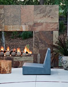 Saratoga Creek House - contemporary - patio - san francisco - WA design