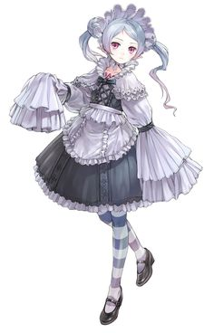 Hom Female from Atelier Rorona: The Alchemist of Arland