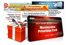 Info Products with Certification of Master Resell Right (MRR , PLR , RR)