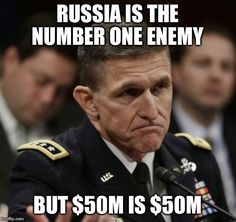 Bucknackt's Sordid Tawdry Blog: Michael Flynn Is The Subject Of A Pentagon Investi...