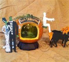 Amazing Halloween Craft Idea made with the #Cricut