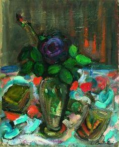 4. Mentre il mimo sta per risalire in groppa al suo cavallo, decide di raccogliere una rosa per portarla alla moglie.
