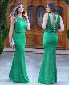{Green } Vestido @docedecoco_oficial