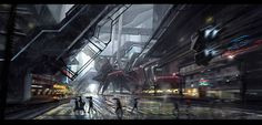 Gia Nguyen Hoang has created these fantastic matte paintings, he is currently based in Vietnam and studying interior design at University. He has taught himself how to make these incredible creations and he hashad opportunities to help directors, game designers, art directors previsualizing their ideas.