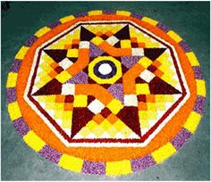 Pookalam Designs For Onam Festival