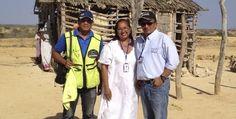 En Bahía Portete: Retenidos corresponsales de prensa por Wayuus ~ Hoy es Noticia