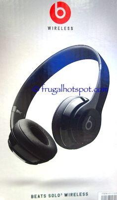 Beats Solo 3 Wireless Headphones. #Costco #FrugalHotspot