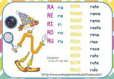 fichas-de-repaso-letrilandia-15 Ludo, Spanish Worksheets, Dora, Activities, Funny, Gabriel, Homeschooling, Papi, Brooch