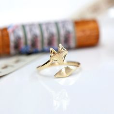 Fox ring / ClaraDesignStudio