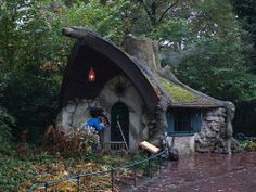 Fairy Tale Houses in Real World