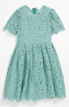 $1,26-$1,305 for a KIDS dress!!!!Dolce Lace Dress (Little Girls & Big Girls) available at #Nordstrom