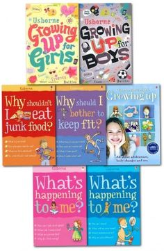 Don't wait for your child to come to you with questions about physical changes and emotional disruptions that occurs in them. #whatshappeningtome and growing up 7 books set by Usborne is perfect for your children who are heading towards puberty.Suitable for children from 9 plus. http://www.amazon.co.uk/Happening-Growing-Collection-happening-shouldnt-x/dp/B00XNIY9GM/ref=sr_1_5?s=books&ie=UTF8&qid=1439047098&sr=1-5&keywords=How+to+Talk+So+Kids+and+Teens #growingupforgirls #growingupforboys