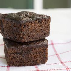 Brownie light au chocolat noir et banane