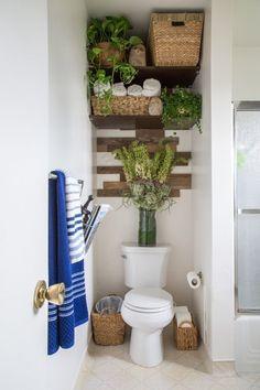 Erick S Modern Organic Burbank Mix House Tour Shelving Over Toilet Plants