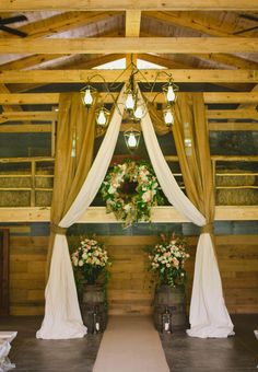 one couples rustic chic wedding at chapel valley farms in alabama