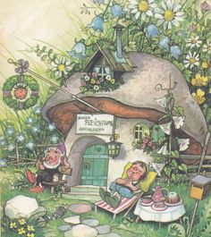 Fritz Baumgarten, in 'Die Wichtelsteiner / Der grosse Reichtum' by micky the pixel, via Flickr