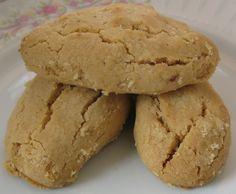Sesame Paste (Tahini) & Walnut Cookies