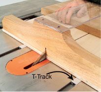 T-track is a versatile product that has many great uses around the shop. It can be attached to the fence of a chop saw, drill press or router table to provide a quick, secure place to attach feather boards, stops and hold-downs. It also makes a great addition to jigs and fixtures with parts that need to be adjustable or easily removed. At first glance, all T-tracks look pretty much …