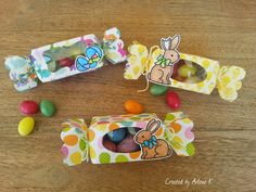 Knipoog Creations: Easter Candy Boxes