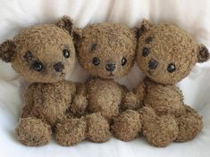This shop has possibly the cutest stuffed animals I have ever seen!! OMGOODNESS!! :)    Mon'Ours Open edition you can order your by viviedoudou on Etsy, $173.00