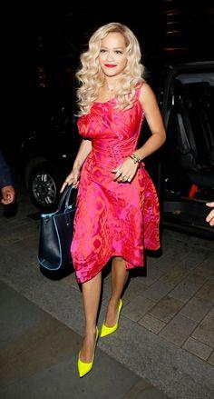 Rita Ora in Vivienne Westwood