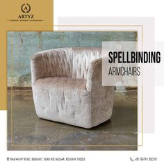 There's nothing like a cup of coffee and a cozy corner on a weekend. Add the perfect amount of elegance to your room with this stylish yet comfy armchair. Drop by at Artyz and choose from our wide range of designer furnitures.  #homedecor #armchair #livingroomideas #modernchairs #interiordesign #interiordesigninspiration Queen Chair, Coffee Chairs, Comfy Armchair, Cozy Corner, Cool Chairs, Dining Room Chairs, Interior Design Inspiration, Modern Chairs, Furnitures