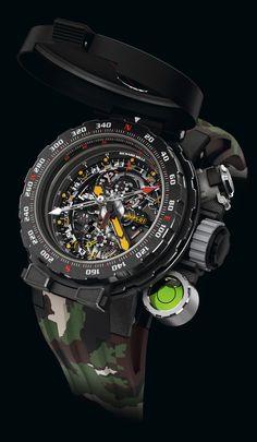 New: Richard Mille RM Tourbillon Adventure Sylvester Stallone. Richard Mille, Sylvester Stallone, Amazing Watches, Cool Watches, Big Watches, Breitling, Seiko, John Rambo, Tourbillon