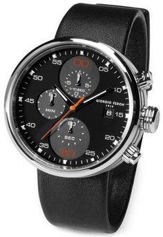 Watches for Men   Giorgio Fedon 1919 Chronograph Watch - Black   @ KJ Beckett - Only £361.50