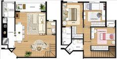 Casa simples 2 pavimentos