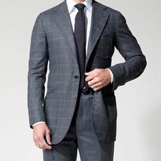 Like this grey combo by @pjohnsontailors #bespoke #tailors #menswear #melbourne #sydney #sartorial #mensstyle