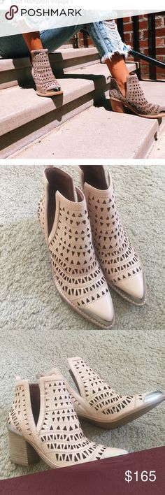 Jeffery Campbell Sabrosa ankle boots Natural Jeffrey Campbell Shoes Ankle Boots & Booties