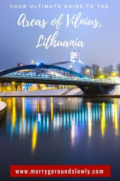 Want to know more about Vilnius in Lithuanian than just the Old Town? Check out this guide, which will give you an overview of the areas beyond the city centre, which are still worth exploring. Your trip to the Baltics is not complete without seeing Viln Travel Pics, Europe Travel Tips, Asia Travel, Travel Guides, Travel Destinations, Usa Places To Visit, Best Places To Travel, Beautiful Places To Visit, Places To See