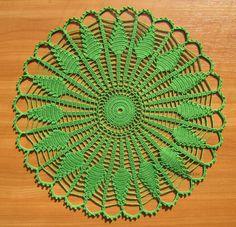 Ravelry: Sundial Doily pattern by The Spool Cotton Company Diy Crochet Patterns, Crochet Bikini Pattern, Crochet Flower Tutorial, Crochet Diagram, Filet Crochet, Crochet Motif, Crochet Doilies, Crochet Stitches, Knitting Patterns