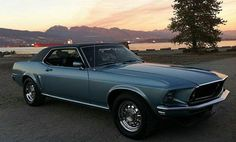 '69 Mustang Grande ... drove one of these in high school. This exact color. Fun car.