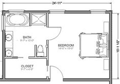 36 Ideas For Attic Remodel Master Suite Layout Master Suite Floor Plan, Master Bedroom Layout, Master Bedroom Bathroom, Small Master Bedroom, Master Room, Bedroom Layouts, Bathroom Layout, Bathroom Ideas, Bathroom Small