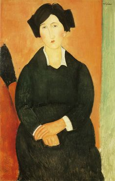 Amedeo Modigliani The Italian Woman 1917 102.6 x 67 cm Oil on canvas The Metropolitan Museum of Art, New York Gift of The Chester Dale Collection