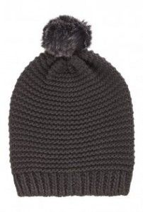 Tall Chunky Knit Hat With Pom Pom at Long Tall Sally