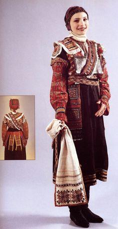 Chuvash women's costume