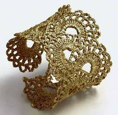 Beautiful Vintage Lace Jewelry by Amanda White - The Beading Gem's Journal
