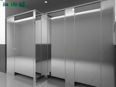 Stainless Steel Bathroom Partitions Exported to Oversas Bathroom Partitions, Locker Storage, Stainless Steel, Home Decor, Decoration Home, Room Decor, Interior Decorating