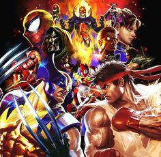 Marvel vs. Capcom 3, via Flickr.