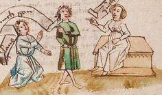 Wolfenbüttel, Herzog August Bibliothek,  Thomasin <Circlaere>   Welscher Gast (W) — Süddeutschland, 3. Viertel des 15. Jhs. Cod. Guelf. 37.19 Aug. 2° Folio 24r