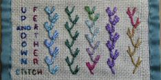 Feather Stitch and its variations.