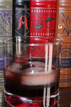 Bitten: 1 1/2 oz vodka 1 oz blackberry brandy 1/2 oz Guinness syrup 1/4 oz grenadine ice No shaker required for this one. Place ice in glass. Pour the syrup, brandy, and vodka over the ice. Finish with the grenadine.
