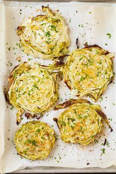 Garlic+Roasted+Cabbage+Wedges