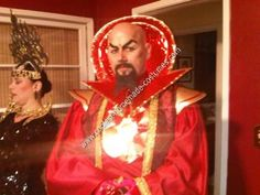 Homemade Ming the Merciless from Flash Gordon Costume: For this homemade Ming the Merciless from Flash Gordon costume I was inspired by the Charles Middleton version of Ming from the 80s movie of Flash Gordon.