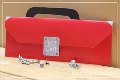 * Free Printables * : Father's Day Toolbox coupon book on (Here the Red Toolbox)